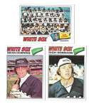 1977 TOPPS VG+EX Checklist Marked - CHICAGO WHITE SOX Team Set