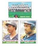 1979 TOPPS - CHICAGO WHITE SOX Team Set
