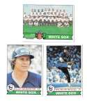 1979 Topps (EX+ condition) - CHICAGO WHITE SOX Team Set