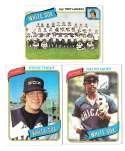 1980 Topps (VG+ Condition) CHICAGO WHITE SOX Team Set