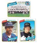 1980 Topps - CHICAGO WHITE SOX Team Set