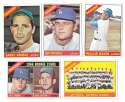 1966 Topps - LOS ANGELES DODGERS Team Set 28 cards