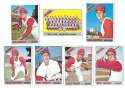 1966 Topps - CLEVELAND INDIANS Team Set 32 cards