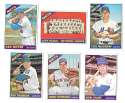 1966 Topps - NEW YORK METS Team Set 31 cards