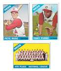 1966 Topps - CINCINNATI REDS Team Set 29 cards