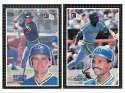 1985 Donruss Action All-Stars (3x5) - SEATTLE MARINERS Team Set