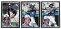 1985 Donruss Action All-Stars (3x5) - TORONTO BLUE JAYS Team Set