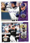 1995 Select - COLORADO ROCKIES Team Set