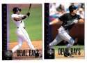 1998 UPPER DECK (1-750) - TAMPA BAY DEVIL RAYS Team Set