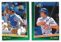 1993 Select - LOS ANGELES DODGERS Team Set