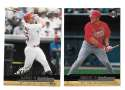 2000 Upper Deck Gold Reserve - ST LOUIS CARDINALS Team Set