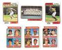 1974 Topps - CINCINNATI REDS Team Set EX Condition w/ RC cards