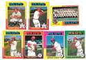 1975 O-Pee-Chee (OPC) - CINCINNATI REDS Team Set EX+ Condition
