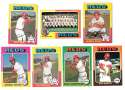 1975 Topps EX+ CINCINNATI REDS Team Set