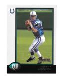 1998 Bowman Football Team Set - INDIANAPOLIS COLTS w/ Peyton Manning RC