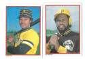 1984 Topps Glossy Send-Ins - PITTSBURGH PIRATES Team Set