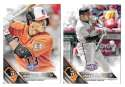 2016 Topps Opening Day - BALTIMORE ORIOLES Team Set