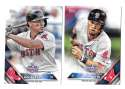 2016 Topps Opening Day - BOSTON RED SOX Team Set