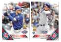 2016 Topps Opening Day - CHICAGO CUBS Team Set