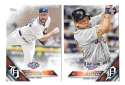 2016 Topps Opening Day - DETROIT TIGERS Team Set