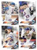 2016 Topps Opening Day - NEW YORK METS Team Set
