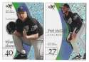 1998 E-X2001 - TAMPA BAY DEVIL RAYS Team Set