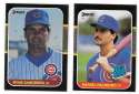 1987 Donruss - CHICAGO CUBS Near Team Set w/o Maddux