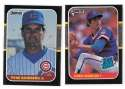1987 Donruss - CHICAGO CUBS Team Set Palmerio is OC