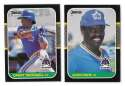 1987 DONRUSS - SEATTLE MARINERS Team Set