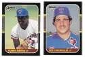 1987 Donruss - TEXAS RANGERS Near Team Set w/o Brown