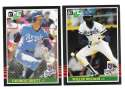 1985 LEAF - KANSAS CITY ROYALS Team Set