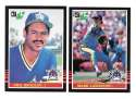 1985 LEAF - SEATTLE MARINERS Team Set