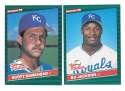 1986 Donruss Rookies - KANSAS CITY ROYALS Team Set