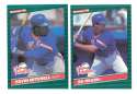 1986 Donruss Rookies - NEW YORK METS Team Set