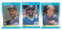 1987 Fleer Mini SEATTLE MARINERS Team Set