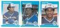 1987 Fleer Mini TORONTO BLUE JAYS Team Set