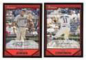 2007 Bowman - WASHINGTON NATIONALS Team Set