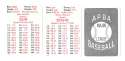1950 APBA (Reprint) Season - BOSTON BRAVES Team Set