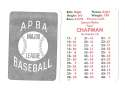 1950 APBA (Reprint) Season - PHILADELPHIA ATHLETICS / A'S Team Set