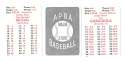 1950 APBA (Reprint) Season - ST LOUIS CARDINALS Team Set