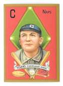2011 Topps CMG Reprints - CLEVELAND NAPS (INDIANS) Cy Young 1911 T205