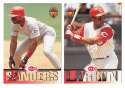 1994 Triple Play - CINCINNATI REDS Team Set