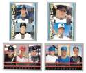 2000 Topps Opening Day Combo cards lot of 4