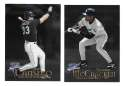 1999 Fleer Brilliants TAMPA BAY DEVIL RAYS Team Set