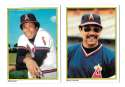 1983 Topps Glossy Send-Ins - CALIFORNIA ANGELS Team set