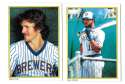1983 Topps Glossy Send-Ins - MILWAUKEE BREWERS Team Set
