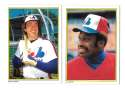 1983 Topps Glossy Send-Ins - MONTREAL EXPOS Team set