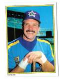 1983 Topps Glossy Send-Ins - SEATTLE MARINERS Team Set