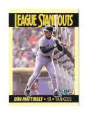 1990 Fleer League Standouts - NEW YORK YANKEES