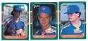 1987 Donruss Rookies - NEW YORK METS Team Set